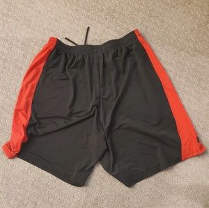 Black and Red Under Armour Shorts